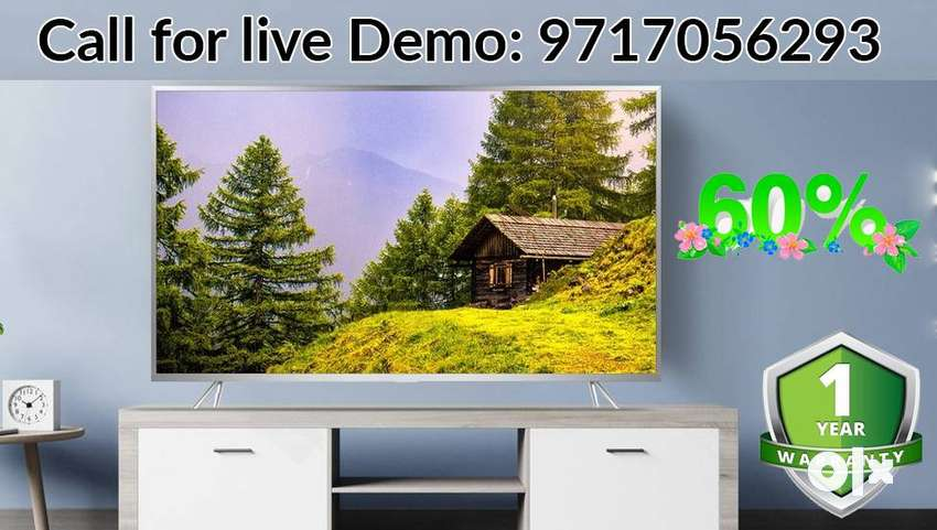 """For Unlimited Entertainment Get New Led TVs (24"""" To 65"""") With Warranty 0"""