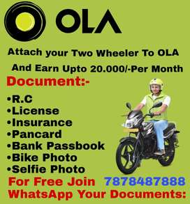 OLA Bike (Required 2 wheeler)