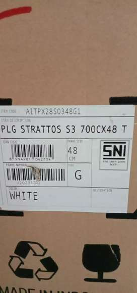 Ready New BNIB Polygon Strattos S3 2021 size S