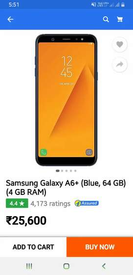 I have Samsung galaxy A6+ mobile i have bill and box charger.