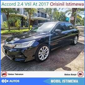 Honda Accord VTIL At 2017 Plat L Pajak Baru Bisa Kredit