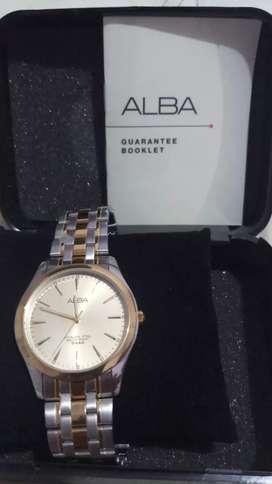 Jam tangan merk Alba