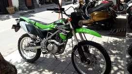 KLX BF 2018 hijau hitam/ Bali Dharma motor