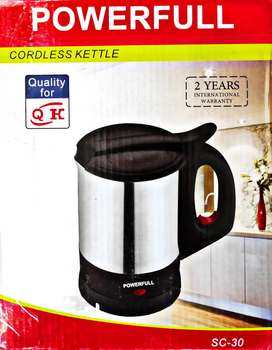 Powerfull electric kettle