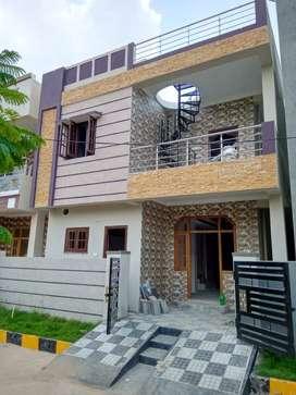 3bhk  1660sft duplex house in gated community @ 70,00,000/-