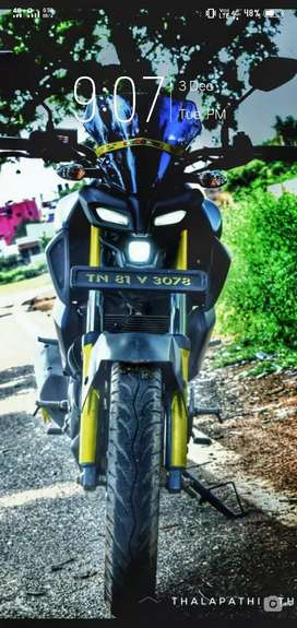 Yamaha mt~15 showroom contion....