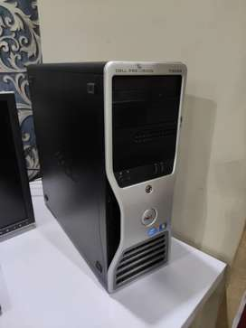 DELL Precision T3500 - 6Gb RAM - 500Gb Hard - 1Gb Graphics card