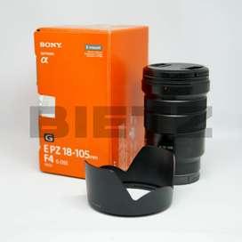 Lensa Kamera Sony E 18-105mm F4 G OSS (Nego)