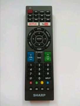 Remote TV LED Sharp smart tv GB234WJSA Oem / remot rimut smarttv
