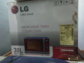 LG microwave oven (box pack brand new)