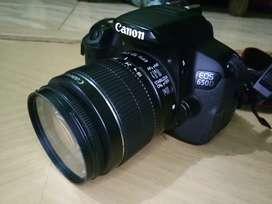 Kamera Canon 650D Lensa Kit Canon ef-s 18 - 55 mm