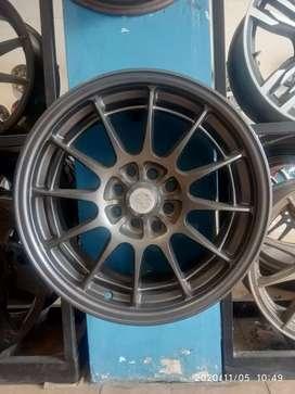 R16x7.5 h8x100/114.3 et35 Velg mobil bisa untuk Avanza city Vios Altis