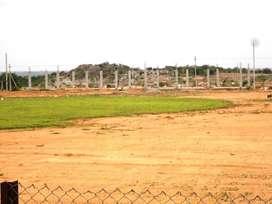 South facing(27,000 per sq.yard)