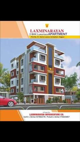 2 Bhk Luxurious Flat Sale Varma Layout Near NIT Swimming pool Nagpur