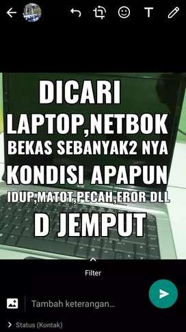Dibeli laptop,netbok MATI ,eror,pecah,normal smua kondisi apapun