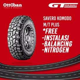 Jual ban mobil ukuran 31x10.50 R15 GT radial savero komodo M/T plus.