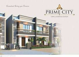 Book your OWN 3BHK DUPLEX- Prime City- Rs.32.51L* Onwards- Waghodia Rd