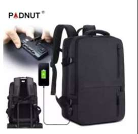 USB Laptop Backpack 17.3 Inch Anti Theft Bagpack Travel