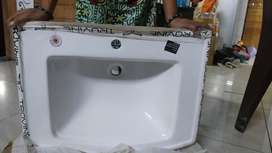 Box type Toilet,Wash basin brand new well packed