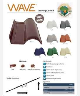 Genteng cejatel Wave made in brazil(genteng keramik)