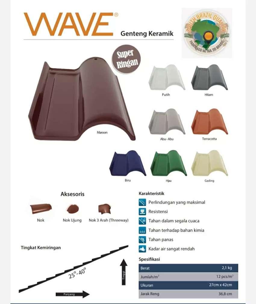 Genteng cejatel Wave made in brazil(genteng keramik) 0