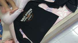 Harley davidson kaos sweater genuine