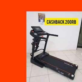treadmill elektrik 2HP TL 680 total fitnes F-73 electric