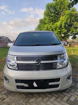 Nissan Elgrand E51 Th. 2008 2.5cc Black Leather Edition Super Istimewa