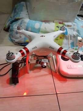 Drone DJI Phantom 3 Standart Gimbal rusak
