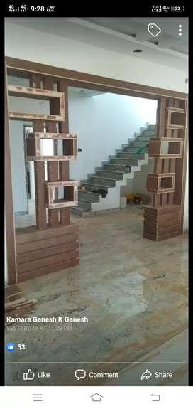Door. Labur rate 200 rupes squire fit...