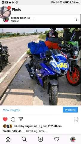 Yamaha r15 v3  for sale or exchange to mojo  himalayan or x plus