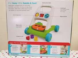 Fisher Price Busy Activity Walker - mainan belajar jalan anak bayi