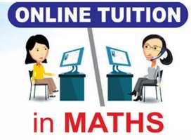Online one to one tuition for maths