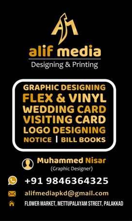 Alif Media Graphic Designer