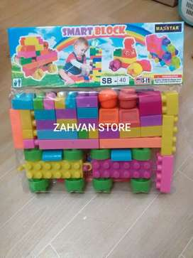 Mainan Edukasi Anak Smart Lego Block SB-40