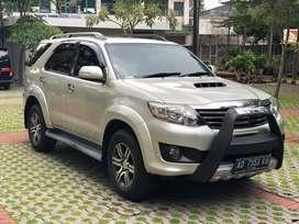 Toyota Fortuner G VNT Diesel A/T Tahun 2013 ! Plat AD ! Istimewa !