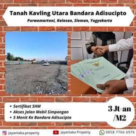 Tanah Sleman Murah Dekat Kampus Ukrim Tiara Purwomartani