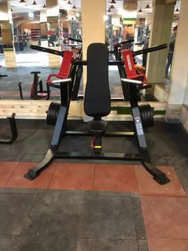 Gym equipment strength and cardio station available