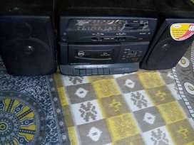BPL Tape recorder, caset , FM radio player,