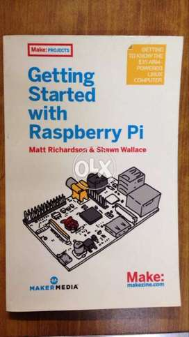 Book getting started with Raspberry Pi
