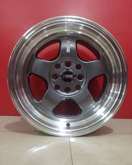 Velg Mobil Ring 15 HSR BRISKET untuk Toyota Corolla, Nissa March dll