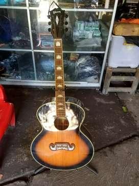 Gitar akustik Gibson dabel ran neww