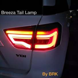 Brezza led tail lamps made in Taiwan