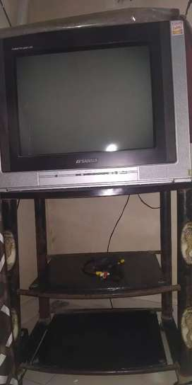 TV with TV table