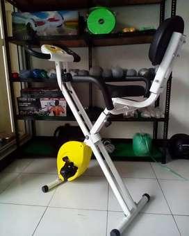 The best New Sepeda fitnes X bike magnetik pakai sandaran