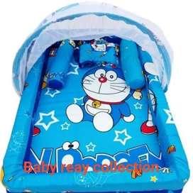 Kasur bayi kelambu kolam set bantal guling