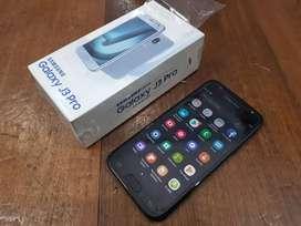 Samsung J3 Pro Black Original, Tanpa Hedset, Normal, Mulus