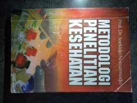jual buku bekas metodologi penelitian kesehatan (Nego)