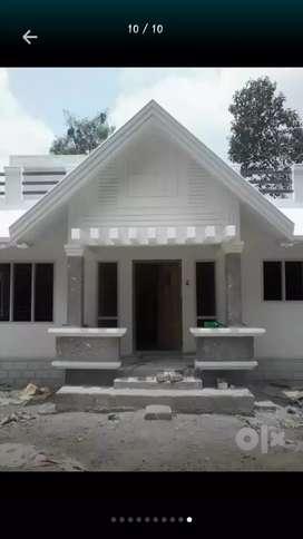 10 cent 3 bed house under constru for sale near undaplavu,thiruvalla
