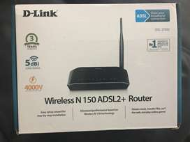 D-Link Wireless N150 (ADSL2 2730U) Wifi Router Modem for sale